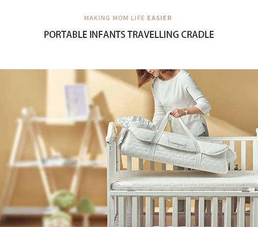 Portable Infants Travelling Cradle
