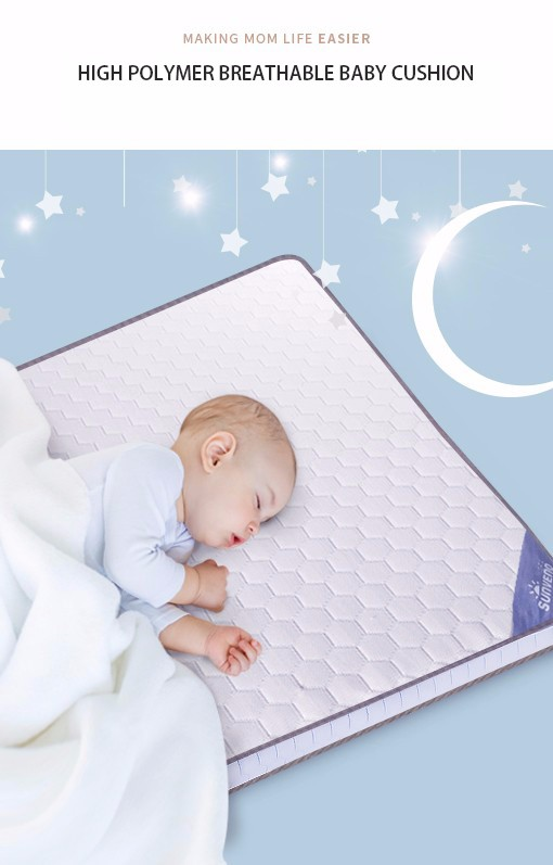 High Polymer Breathable Baby Cushion